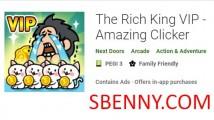 Le roi riche VIP - Clicker incroyable