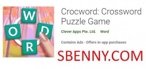Crocword: Crossword Puzzle Game + MOD