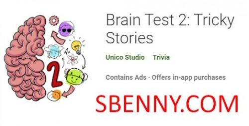 Brain Test 2: Tricky Stories + MOD