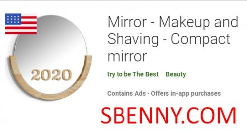 Mirror - Makeup and Shaving - Compact mirror + MOD