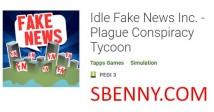 Idle Fake News Inc. - Магнат заговора чумы + MOD