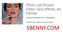 Photo Lab Picture Editor: effets faciaux, cadres artistiques + MOD