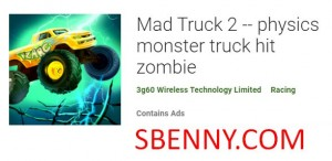 Mad Truck 2 - Physik Monster Truck Hit Zombie + MOD