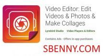Editor video: modifica video e amp; Foto e amp; Crea collage + MOD