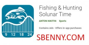 Fishing & Hunting Solunar Time + MOD
