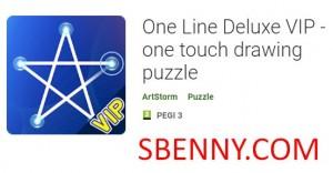 One Line Deluxe VIP - puzzle di disegno a un tocco