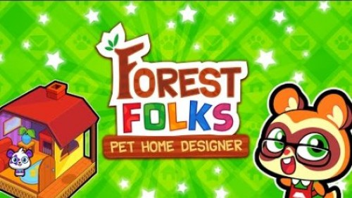Forest Folks - Cute Pet Home Design Game + MOD