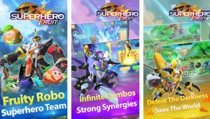 Superheld Fruit Premium: Robot Wars Future Battles