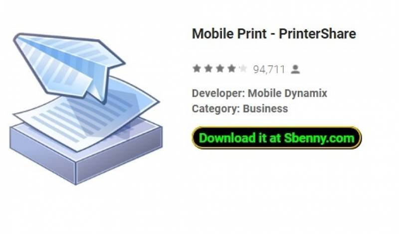 Stampa mobbli - PrinterShare + MOD