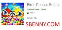 Birds Rescue Bubble + MOD