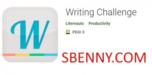 Herausforderung beim Schreiben