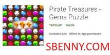 Pirate Treasures - Gems Puzzle + MOD