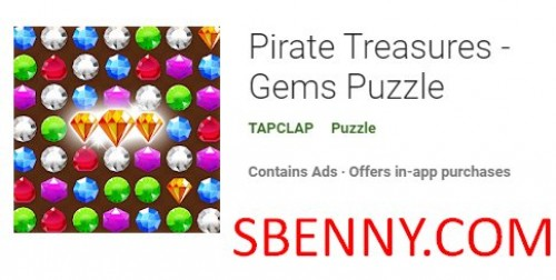 Pirate Treasures - Gems Puzzle + MOD