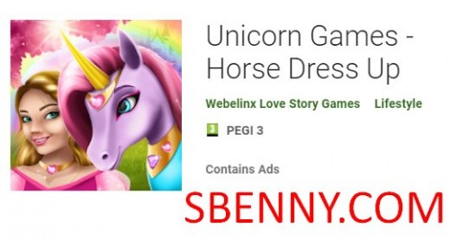 Juegos de unicornios - Horse Dress Up + MOD