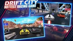 Jeu de course Drift City-Hottest + MOD