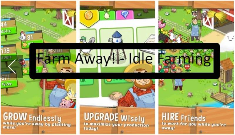 Фарм Away! - Idle Farming + MOD