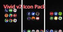 Vivid v2 Icon Pack + MOD