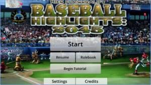 Baseball Faits saillants 2045 + MOD