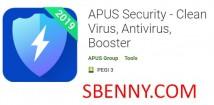 Sécurité APUS - Clean Virus, Antivirus, Booster + MOD