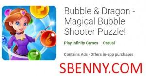 Buzzieqa & amp; Dragon - Puzzle Magical Bubble Shooter! + MOD