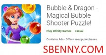 Buzzieqa & amp; Dragon - Puzzle Magical Bubble Shooter! + MOD