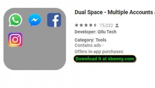 Dual Space: account multipli e amp; APP parallela + MOD