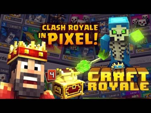Craft Royale - Clash of Pixels + MOD