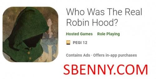 ¿Quién fue el verdadero Robin Hood? + MOD