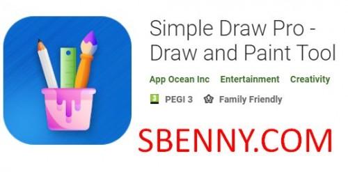Simple Draw Pro - инструмент рисования и рисования