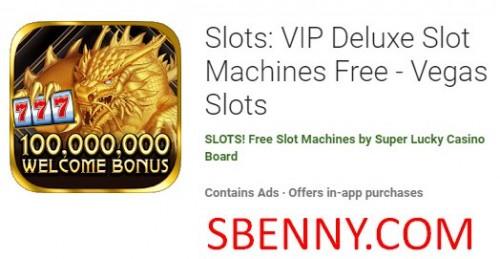 اسلات: ماشین های حافظه VIP Deluxe Free - Slots Vegas + MOD