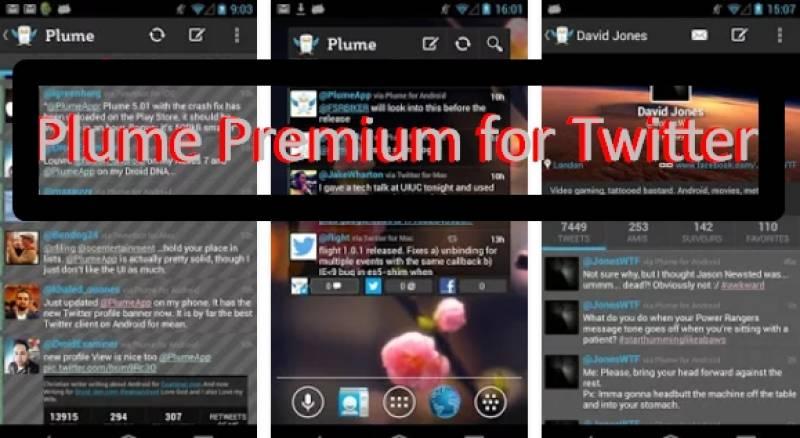 Plume Premium per Twitter + MOD