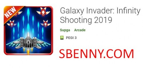 Galaxy Invader: Infinity Shooting 2019 + MOD