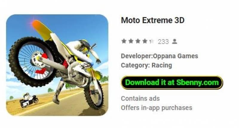 Moto Extreme 3D + MOD