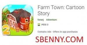 Farm Town: Cartoon Story + MOD