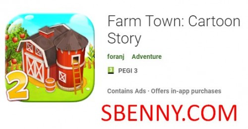 Farm Town: Cartoon Story + MOD
