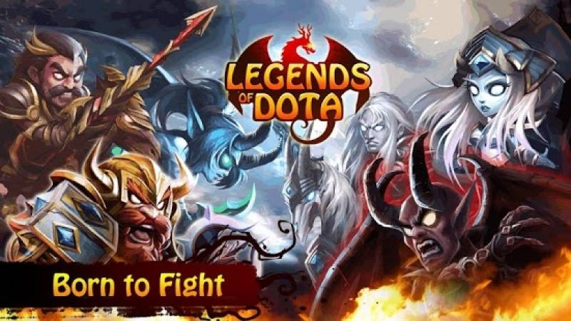 Legends Of Dota + MOD