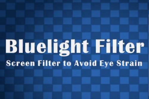 Blue Light Filter - Dimmer per schermo per Eye Care + MOD