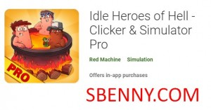 Idle Heroes of Hell - Clicker و Simulator Pro + MOD