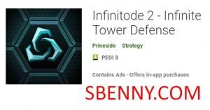 Infinitode 2 - Infinite Tower Defense + MOD