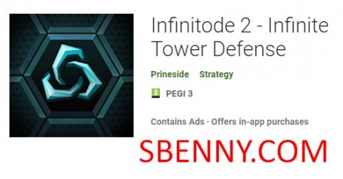 Infinitode 2 - Infinite Tower Defense + MOD