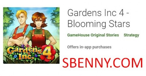 Gardens Inc 4 - Blooming Stars + MOD