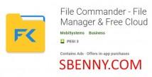 File Commander - Gestionnaire de fichiers & amp; Cloud gratuit + MOD