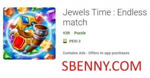 Jewels Time: Match sans fin + MOD
