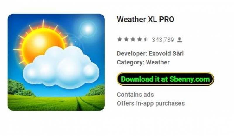 Weather XL PRO + MOD