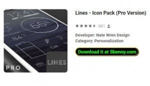 Lignes - Icon Pack (Version Pro)