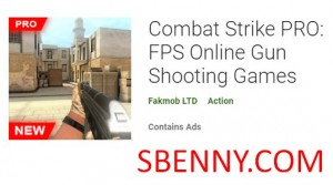 Combat Strike PRO: FPS Online Gun Shooting Games + MOD