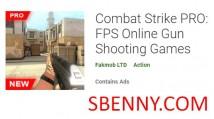 Combat Strike PRO: Jeux de tir en ligne avec FPS + MOD