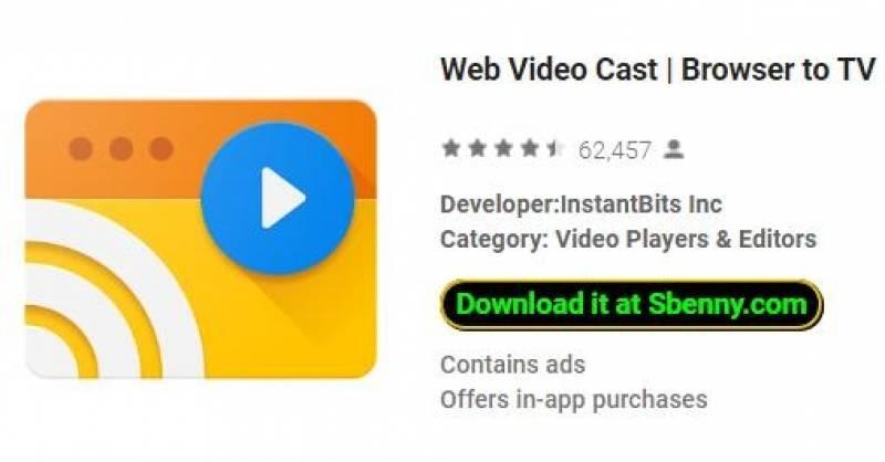 Web Video Cast   Navigateur vers la télévision (Chromecast / DLNA / +) + MOD