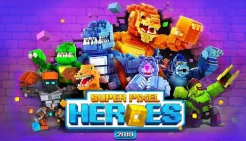 Super Pixel Heroes + MOD