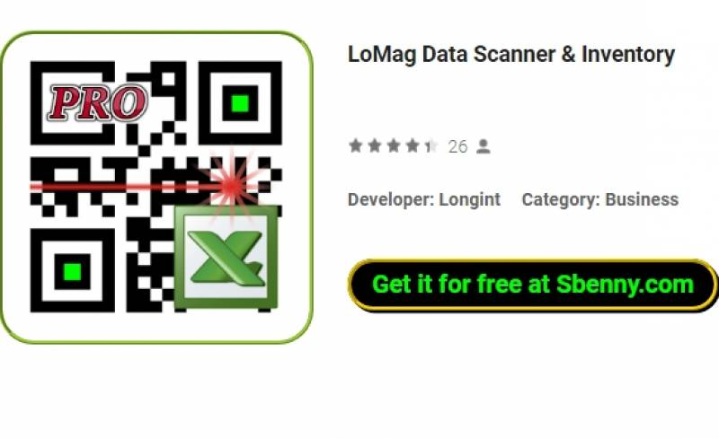 LoMag Data Scanner & amp; Inventario